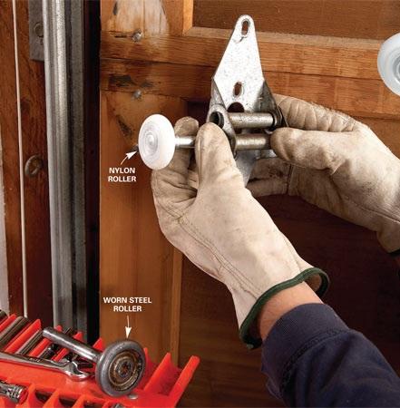 How To Replace Garage Door Rollers?